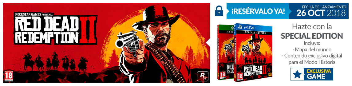 GAME red dead regalo